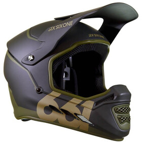 SixSixOne Reset MIPS Full Face Helmet deep forest green